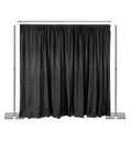Rental store for PIPE   DRAPE, 8  TALL x 6 -10  WIDE in Raleigh NC