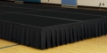 Rental store for STAGE DECK, 4 X 8 BLACK CARPET in Raleigh NC