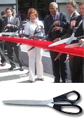 Rental store for RIBBON CUTTING SCISSORS, 25 in Raleigh NC