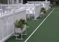 Rental store for EVENT FENCING - 6  WHITE PANELS in Raleigh NC