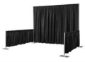 Rental store for PIPE   DRAPE, 3  TALL x 6 -10  LONG in Raleigh NC