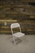 Rental store for CHAIR, CHILDREN - WHITE FOLDING in Raleigh NC