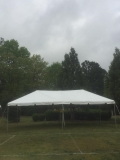 Rental store for 15 X 30 FRAME, WHITE TOP in Raleigh NC