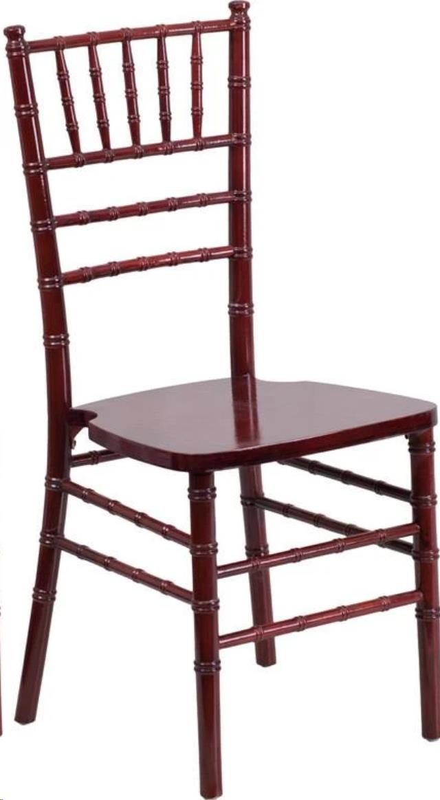 Where to find CHAIR, MAHOGANY CHIAVARI NO PAD in Raleigh