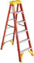 Rental store for LADDER, 16  STEP, FIBERGLASS in Raleigh NC