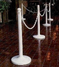 Rental store for STANCHIONS, WHITE in Raleigh NC