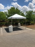 Rental store for 10 X 10 FRAME, WHITE TOP in Raleigh NC