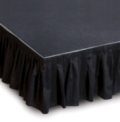 Rental store for STAGE SKIRT,18  DROP, 12  LONG in Raleigh NC