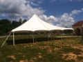 Rental store for 40 X 40   POLE TENT, WHITE-TT in Raleigh NC